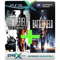 Battlefield 3 + Battlefield Bad Company 2 Cod Psn Ps3