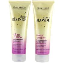 Kit Shampoo + Condic John Frieda Sheer Blonde Colour Renew