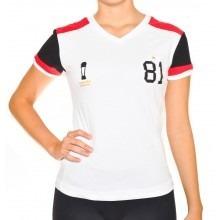 Camisa Flamengo Feminina Retro Branca 1981 - R  79 1df8c88227a5a