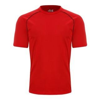 1d4fad8ee Camiseta Pulse Grupo Everlast Vermelho Detalhe Preto - R  34