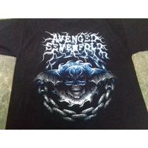 Playera, Avenged Sevenfold,serigrafia, Talla G