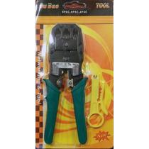 Crimpeadora Para Rj45 Rj11 Rj12 Incluido El Pelacable