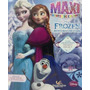 Libro Frozen Una Aventura Congelada - Maxiformato 48 X 76 Cm