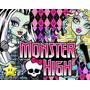Kit Imprimible Monster High Diseñá Tarjetas Cumples Y Mas2
