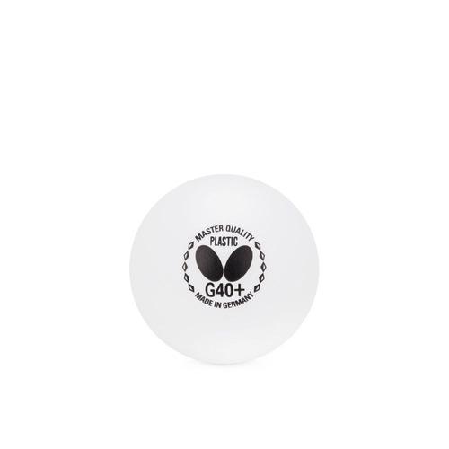 f3e15208d9bce Bola De Tênis De Mesa Butterfly Plastic Treino G40+ Branca - R  16 ...