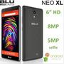 Blu Neo Xl 6.0 Hd N110u 8gb 8mp 4g H + Dual Sim Android