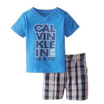 Conjunto Calvin Klein Niños 12 Meses, Ropa Bebe, Niños