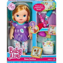 Nova Boneca Boneca Baby Alive Bons Sonhos Hasbro A8348