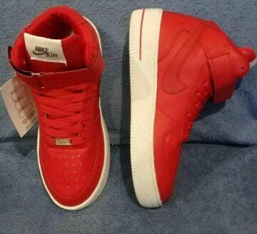 30f8a097ba4 Hombre Zapatillas Rojas Zapatillas Nike Nike Botitas qFO4Ixnpw