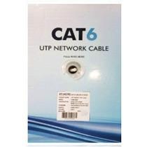 Bobina Cable Utp Cat6 305mts Netlinks Certificado Red Cctv