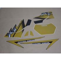 Kit Adesivos Yamaha Xt 225 2002 Dourada