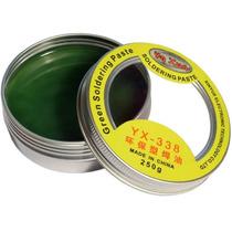 Pasta Soldar Flux Fundente Limpiador Yaxun Verde Calidad