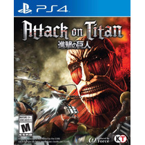 Attack On Titan - Playstation 4, Ps4 (físico) Fgk