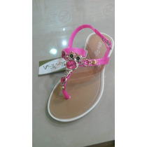 Sandalias Plasticas Traviesa Niñas Originales