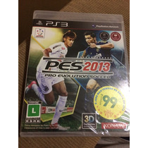 Pes 2013 Ps3, Novo, Lacrado - Melhor Jogo De Futebol Lançado