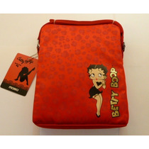 Funda Morral Mobo Tablet 10 Pulgadas Betty Boop Rojo