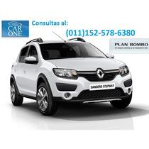 Renault Sandero Stepway $65000 + Financiacion 0% Interes