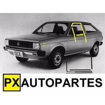 Kit Canaletas C/pestanas 10 Peças Gol Saveiro Voyage 80-86