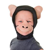 Disfraz De Mono Capucha De Chimpancé Y Nariz Para Niños