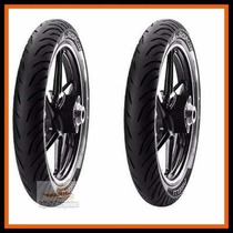 Pneu Pirelli 60 100 17 + 80 100 14 Super City Biz 100,125