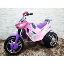 Moto Infantil Fada 6v Rosa/lilás - Magic Toys