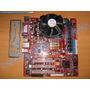 Kit Motherboard Pcchips P21g V3.1 Procesador 3.0ghz 1gb Ram