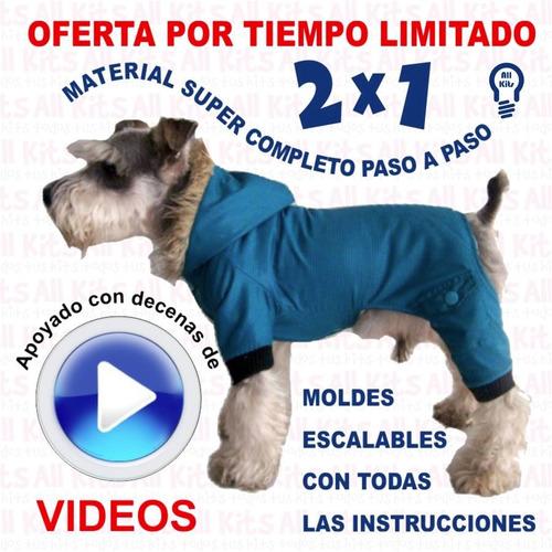 Mega Kit Imprimible Moldes Y Patrones Ropa Para Perros + 2x1 - $ 44 ...