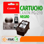 Cartucho Canon 210 Pg-210 Negro Original