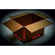 Paq 30 Cajas Cartón,empaque,mudanza,envíos 59.5x29.5x32.5