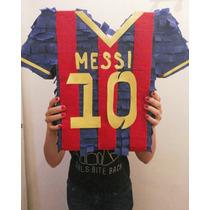 Piñata De Lio Messi El N°1 Para Fanáticos ¡super Original!