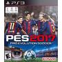 Pes Pro Evolution Soccer 2017 Ps3 Digital Con Pase Online