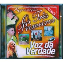 Playback Voz Da Verdade - Os Três Primeiros [cd-duplo]