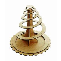 Piruliteiro Espiral Em Mdf Cru