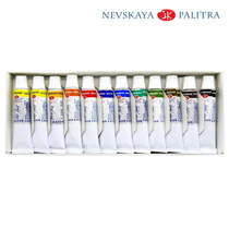 Estojo Aquarela White Nights 12 Cores 10ml - Nevskay