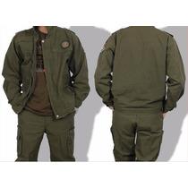 Conjunto Piloto, Militar, Calça+camisa, L