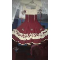 Vestido De Cueca Con Versable