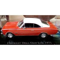 Miniatura Opala Gran Luxo -1971 Coleção Chevrolet