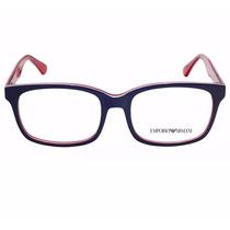 Armação Acetato P/ Grau Óculos Empório Armani Pronta Entrega