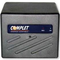 Regulador 8 Contactos Complet Erv-5-008 1300va Negro +c+