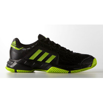 Zapatillas Adidas Tenis Barricade Court 2 Black/green