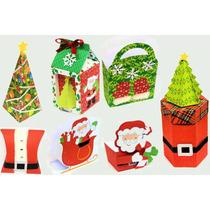 Kit Digital Silhouette Natal Papai Noel Bota Trenó Arvore