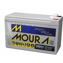 Kit 2 Baterias Moura 9a 12v - No Break Cerca Elétrica Alarme