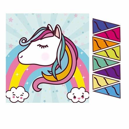 Juego Para Cumpleanos Ponle El Cuerno Al Unicornio 35 00 En