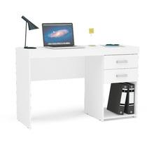Escrivaninha Mesa Recepção Ml C/ 2 Gavetas Com Nicho