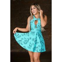 Vestido Casual Gode Rodado Miss E Misses Blogueira