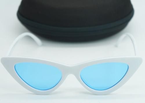 b0c89a0df Óculos De Sol Feminino Retrô Gatinho Estiloso Proteção Uv - R$ 32,89 em  Mercado Livre