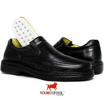 Sapato Anti Stress Semi-ortopédico Couro Ideal P/ Diabéticos