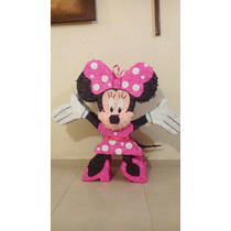 Piñata Minnie Mouse, Caricaturas