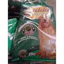 Ração Cães Buddy Power Carne E Vegetal 19 % Prot. Saco 15k