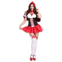 Sexy Halloween Disfraz Nuevocaperucita Rojo Lenceria Oferta